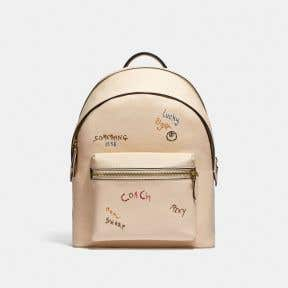 CHARTER BACKPACK WITH EMBROIDERY