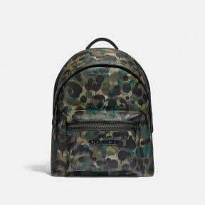 Charter Backpack With Camo Print