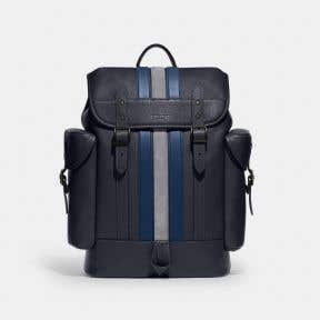Hitch Backpack With Varsity Stripe